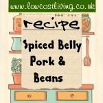 Spiced Belly Pork & Beans