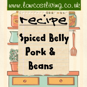 Spiced Belly Pork & Beans