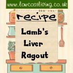 Lamb's Liver Ragout
