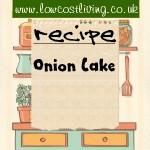 Onion Cake Recipe