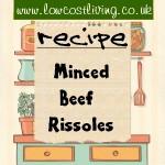 Minced Beef Rissoles