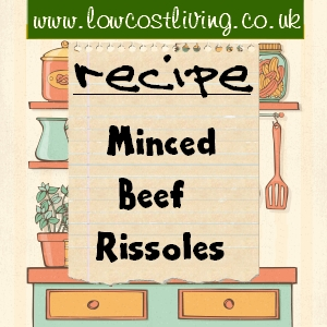 Minced Beef Rissoles