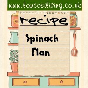 Spinach Flan