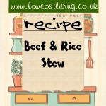 Beef & Rice Stew