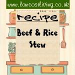 Beef & Rice Stew