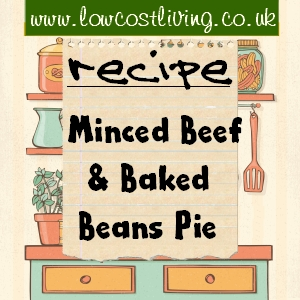 Minced Beef and Baked Beans Pie