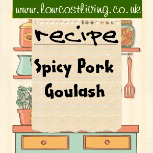 Spicy Pork Goulash