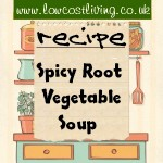 Spicy Root Vegetable Soup
