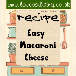 Easy Macaroni Cheese