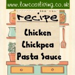 Chicken Chickpea and Vegetable Pasta Sauce