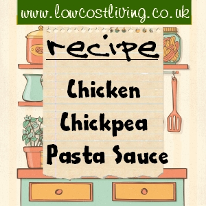 hicken Chickpea and Vegetable Pasta Sauce