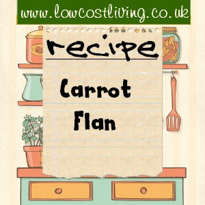 Carrot Flan Recipe