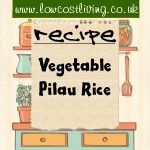 Vegetable Pilau Recipe