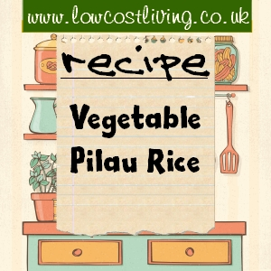 Vegetable Pilau Recipe