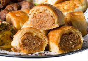 Sausage Rolls with Flaky Pastry
