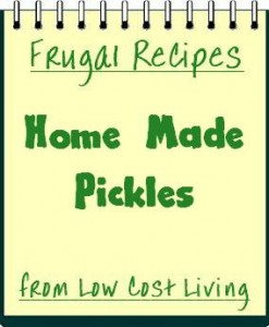 Home Made Pickle Recipes