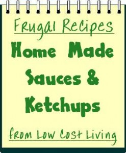 Home Made Sauces Ketchup Recipes