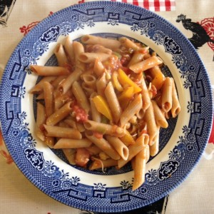 Sprouted Beans Pasta