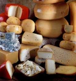 Various cheeses
