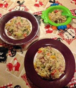 Frugal Vegan Risotto