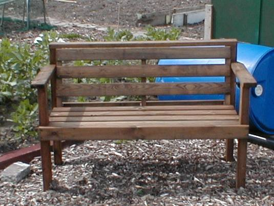 frugal garden furniture save money low cost living