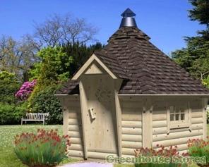 Kim Octagonal Log Cabin