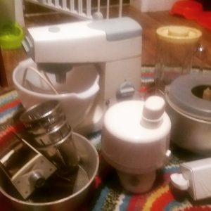 Kenwood Mixer & Attachments